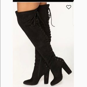 Fashion Nova Over the knee boots